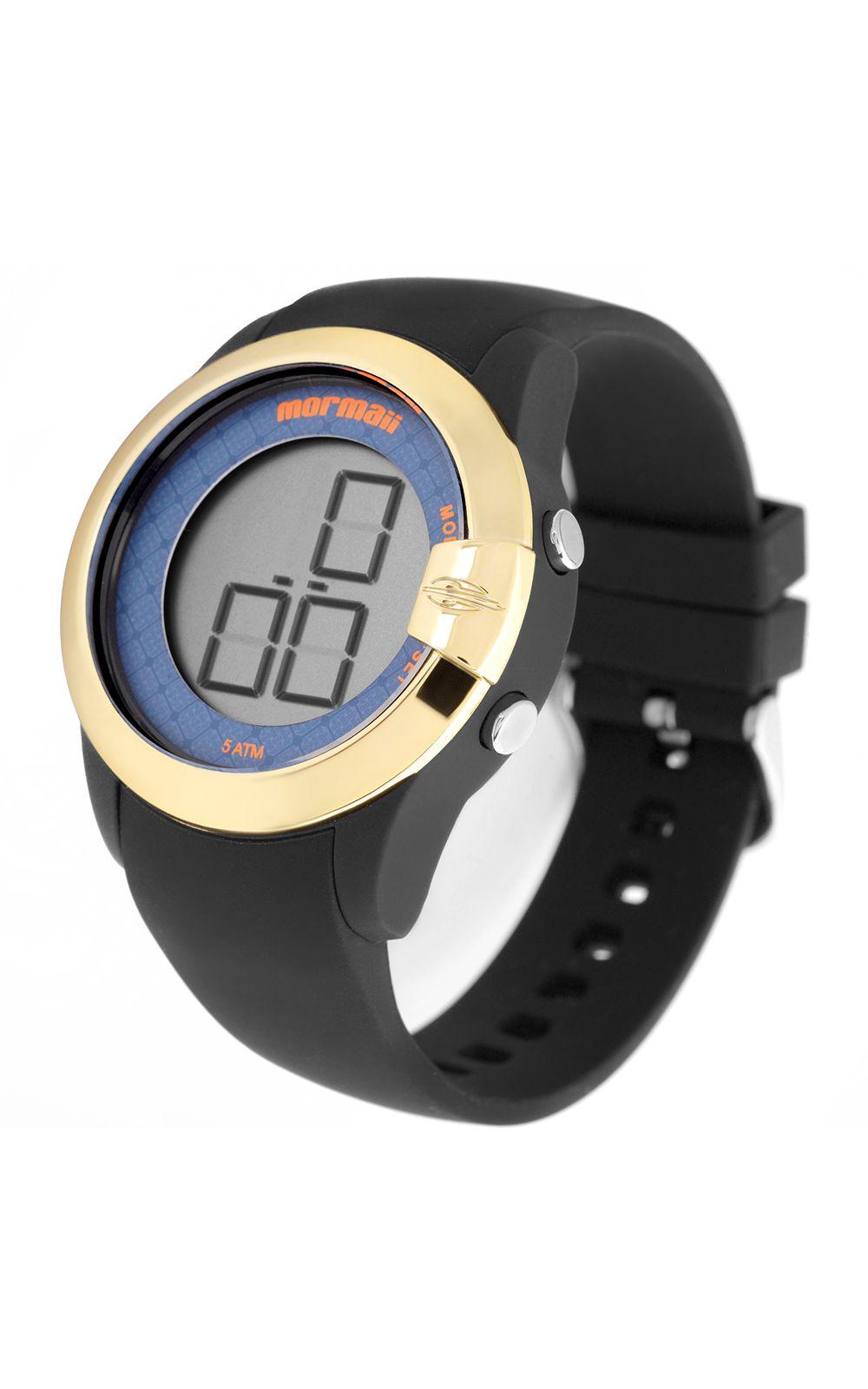 5171dbead78 ... Foto 2 - Relógio Mormaii Feminino Luau Dourado ...