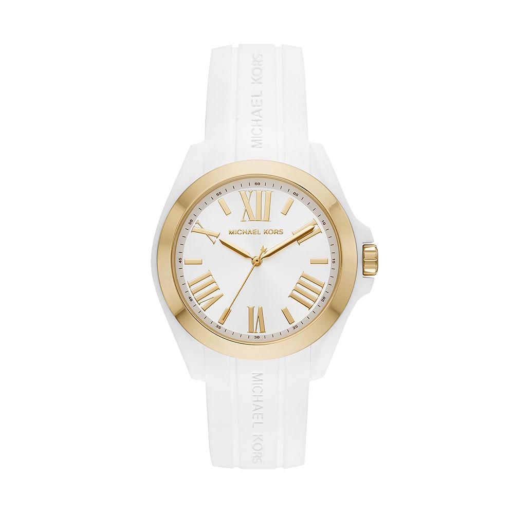 Relógio Michael Kors Feminino Bradshaw Bicolor - timecenter c4f6eb0645
