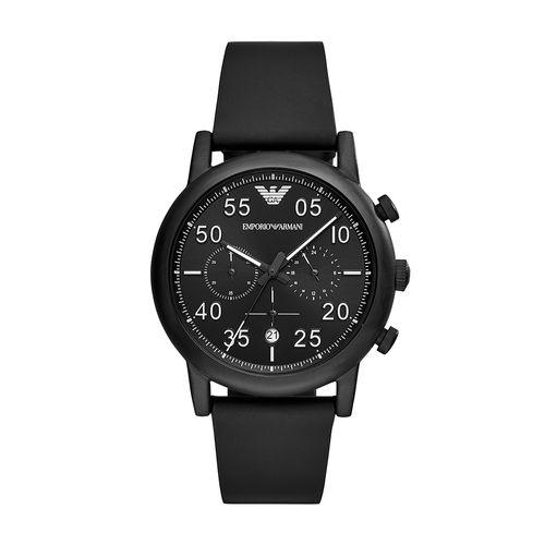 Relógio Empório Armani Masculino Luigi Preto - AR11133/0PN