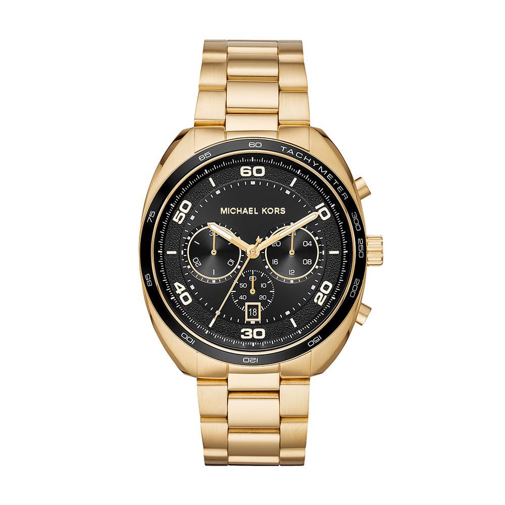 Relógio Michael Kors Masculino Dane Dourado - Tempo de Black Friday 9ae6a4bd7c