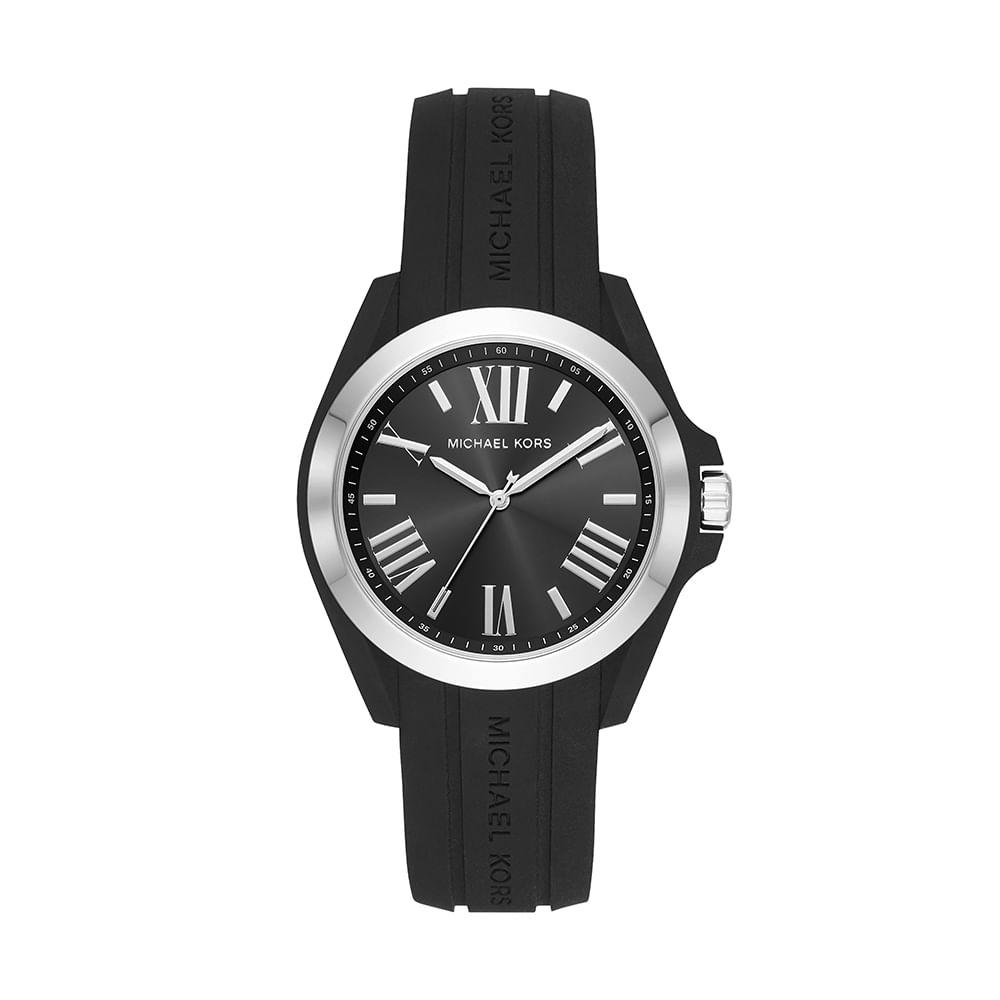 225b49be9652d Relógio Michael Kors Masculino Bradshaw Bicolor - timecenter