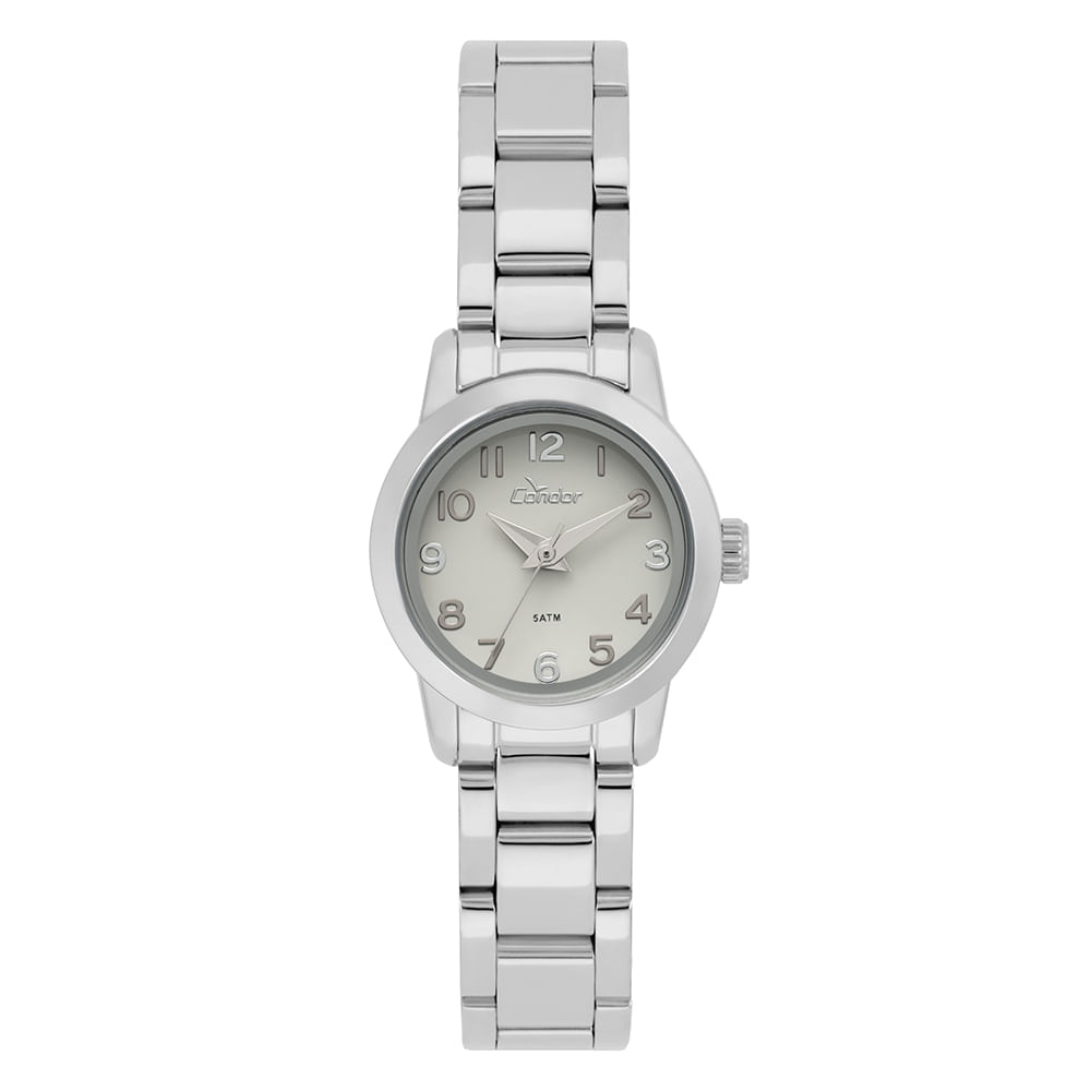 d514bf4b94b27 Relógio Condor Feminino Mini Prata - timecenter