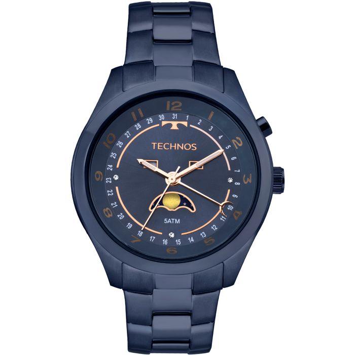 2b6371b37a0 Relógio Technos Feminino Ladies Azul - 6P80AE 4A - technos