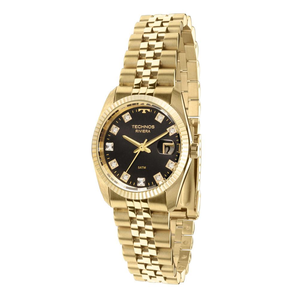 bc6bd43d8a0 Relógio Technos Feminino Riviera - GL10IA M4P - timecenter