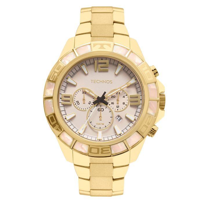 0b10e8e133ab4 Relógio Technos Masculino Legacy Dourado - technos