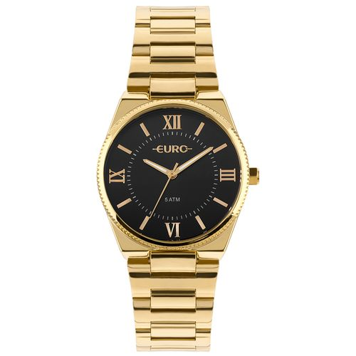 f8375f0de78 Relógio Euro Feminino New Basic Dourado - euro