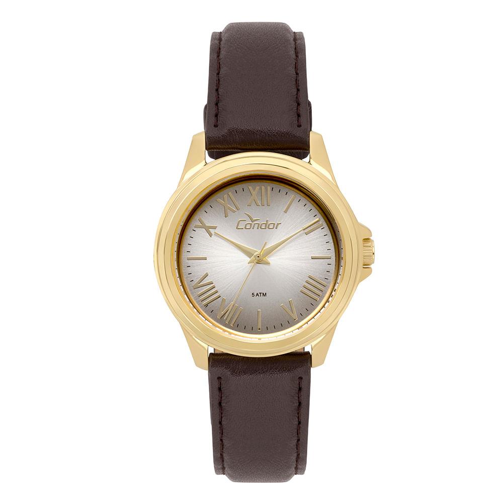 2bc140d7fa4 CO2039BD2K. CO2039BD2K. Condor. Relógio Condor Feminino Bracelete ...