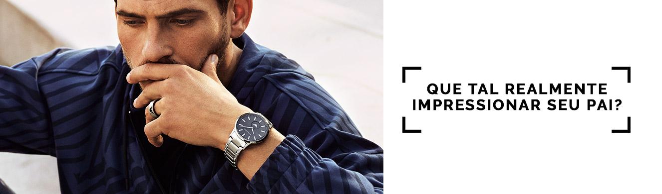 fc85a3ebd89 Surpreendanodiadospais Relógio - Armani Exchange – timecenter