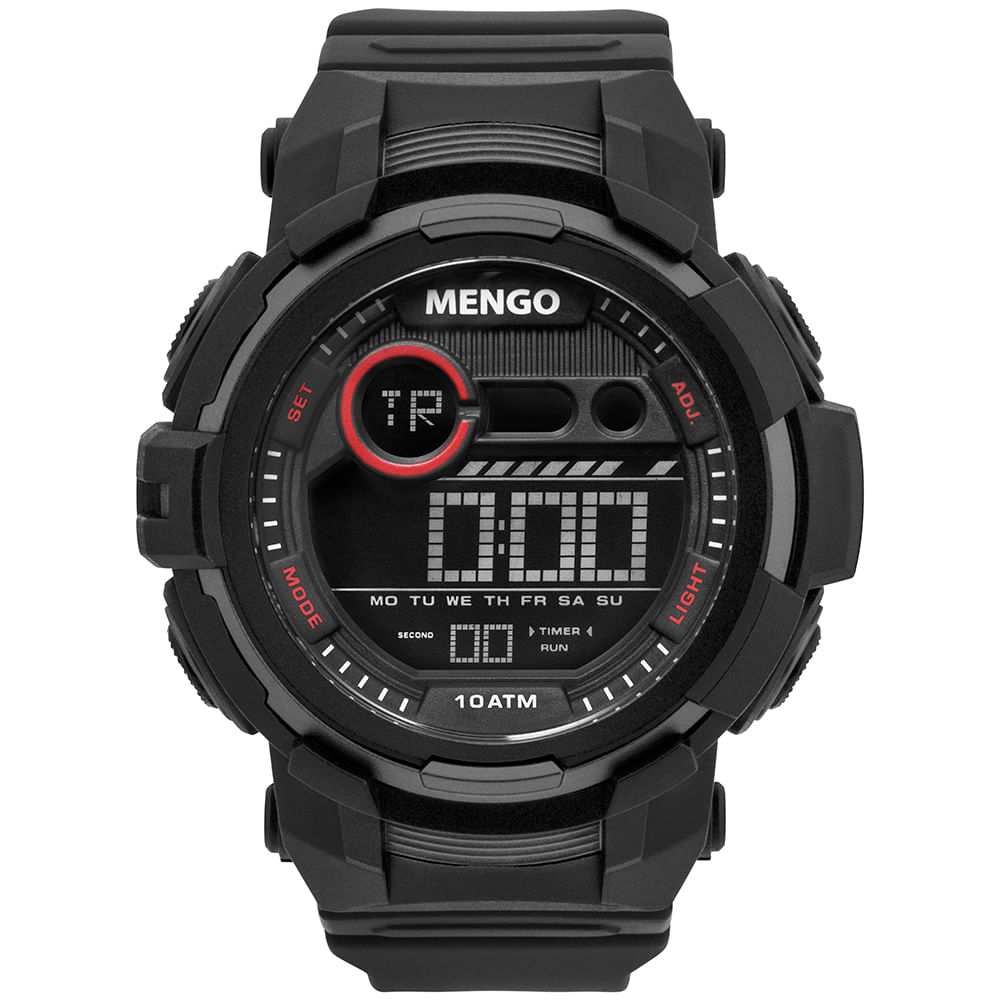 501d8a8b87c Relógio Clubes Technos Masculino Flamengo Preto - FLALCDAA 8P ...