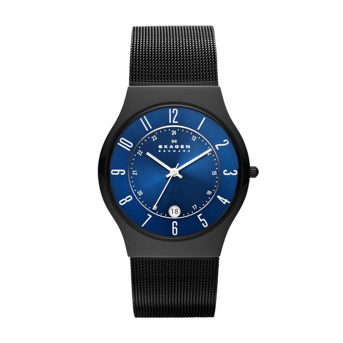 b96a85d82e0fa Relógio - Skagen Azul – Tempo de Black Friday