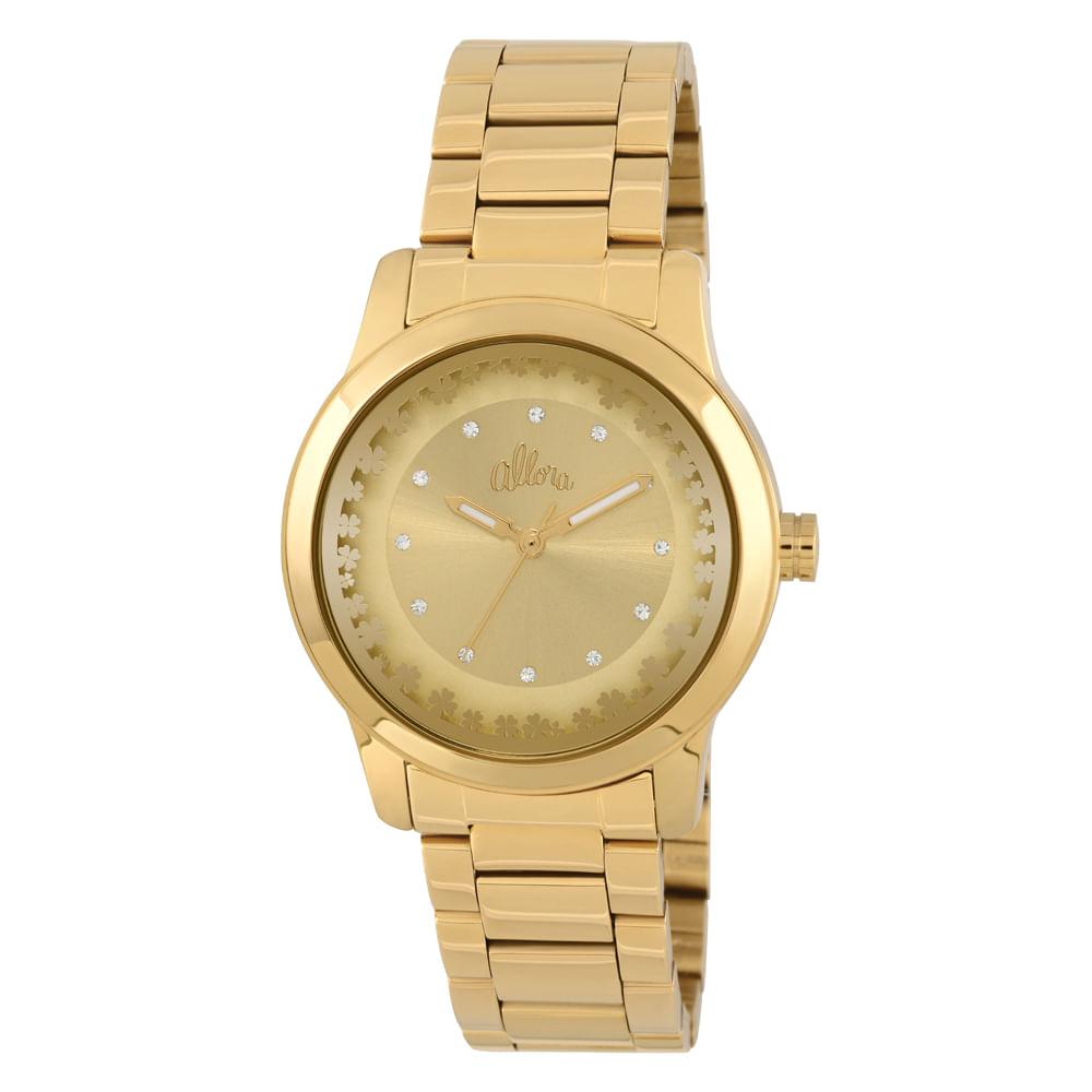 55206b7c3d5 Relógio Allora Feminino - AL2035KI 4D - timecenter