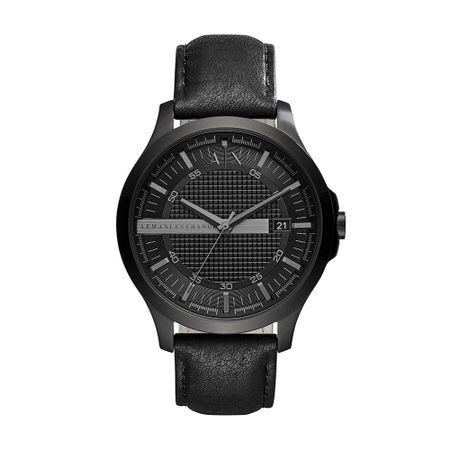 Relógio Armani Exchange Couple Shot Masculino Preto