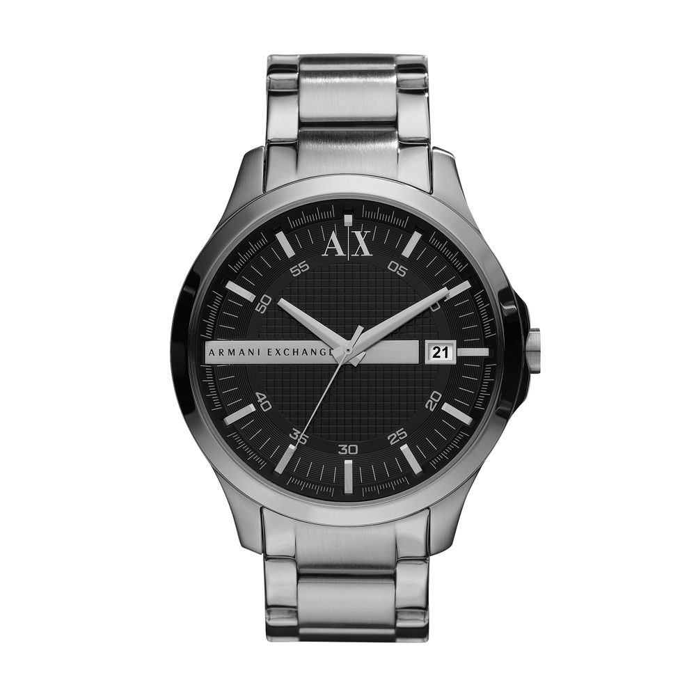 316ac299d0d AX21031PN. Armani Exchange. Relógio Armani Exchange Masculino Prata ...