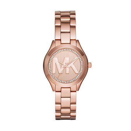 Relógio Michael Kors Feminino Mini Slim Runway Rosé - MK3549/1KI