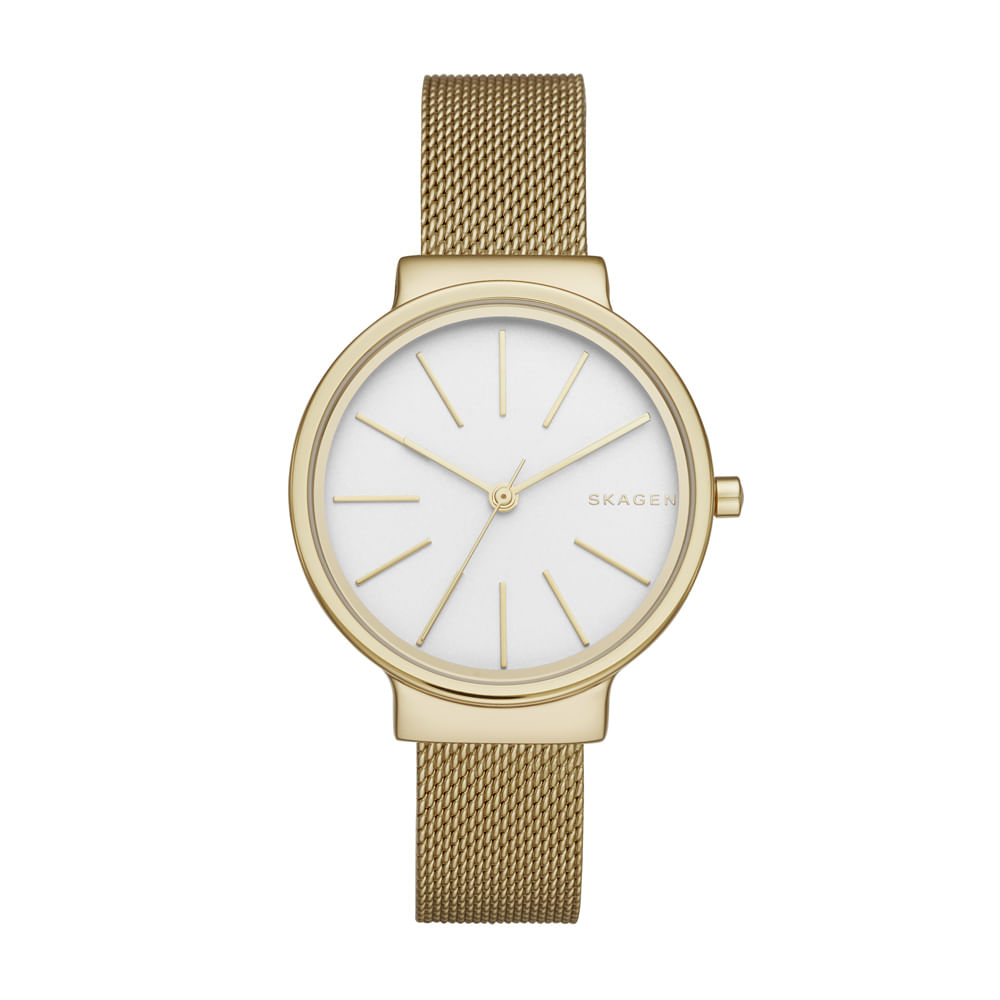 f742813821976 Relógio Skagen Feminino Tbd Dourado - SKW2477 4BI - timecenter