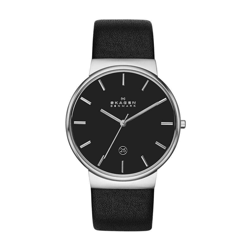 41075bd878eac Relógio Masculino Skagen Ancher Prata - SKW6104 2PN - timecenter