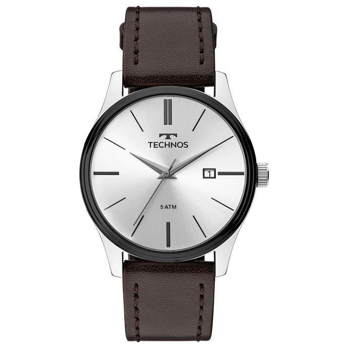 Relógio Technos Masculino Steel Prata 2115MPP 1K b26bb26c87