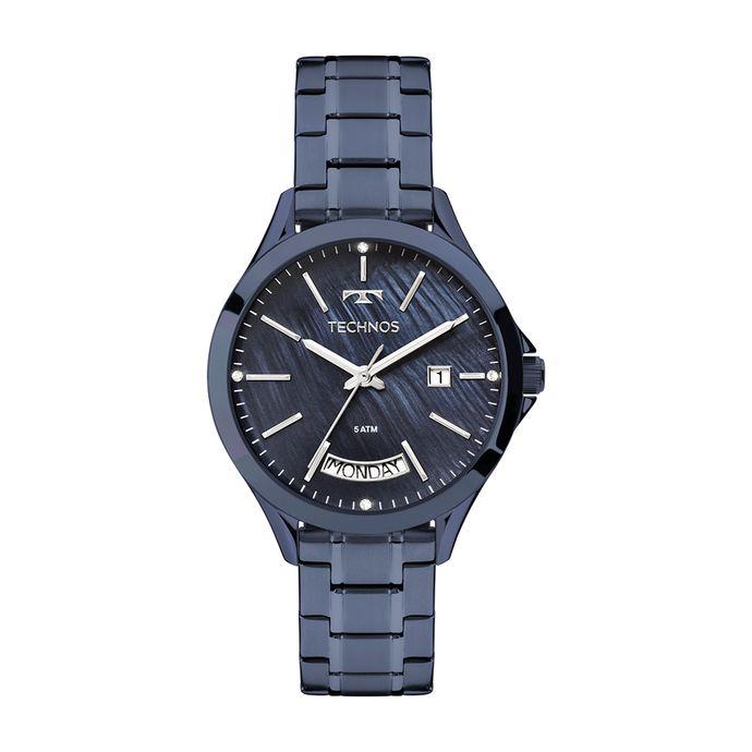Relógio Technos Feminino Trend Azul 2350AG 4A 457c9792d6