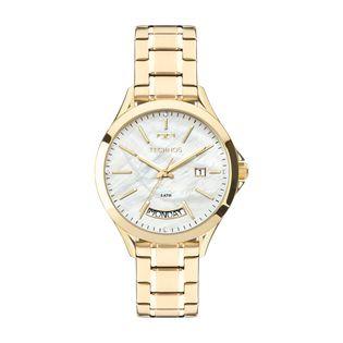 3cbdea14b43 Relógio Technos Feminino Trend Dourado 2350AE/4B - technos