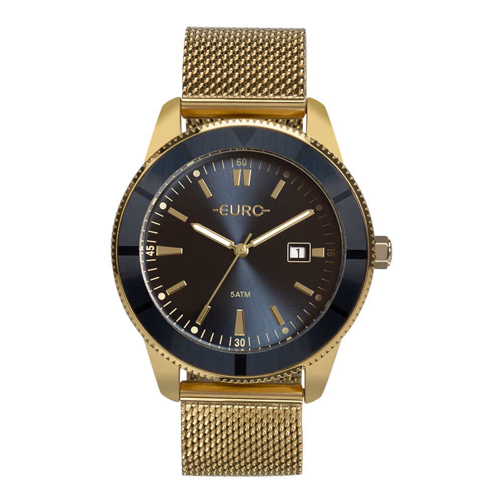 1aed4c72767 Relógio Euro Feminino Metal Trendy Dourado EU2115AL 4A - timecenter