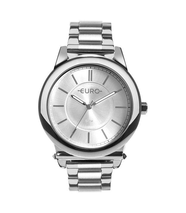 Relógio Euro Feminino Assimetric Glam Prata EU2036YMT 3K f4eabbe42a