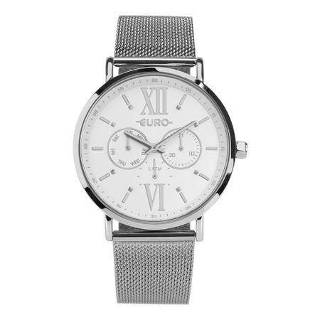 Relógio Euro Feminino Multi Glow Prata EUVD75AE/3K