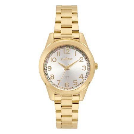 Relógio Condor Feminino Fashion Dourado CO2039BI/K4K
