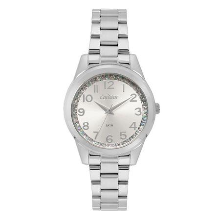 Relógio Condor Feminino Fashion Prata CO2039BJ/K3K