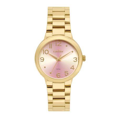 Relógio Condor Feminino Fashion Dourado CO2035KXP/K4T
