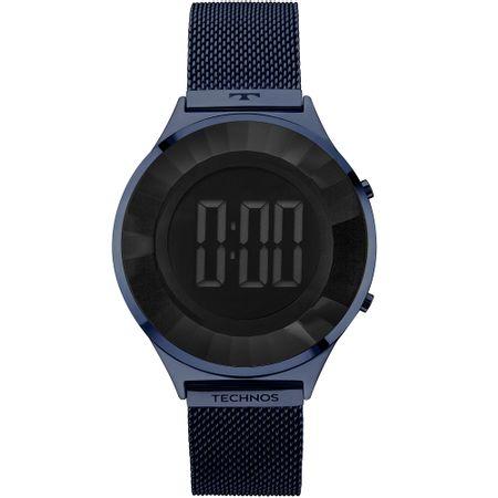 Relógio Technos Feminino Crystal Azul BJ3572AC 4P f10804dc3c