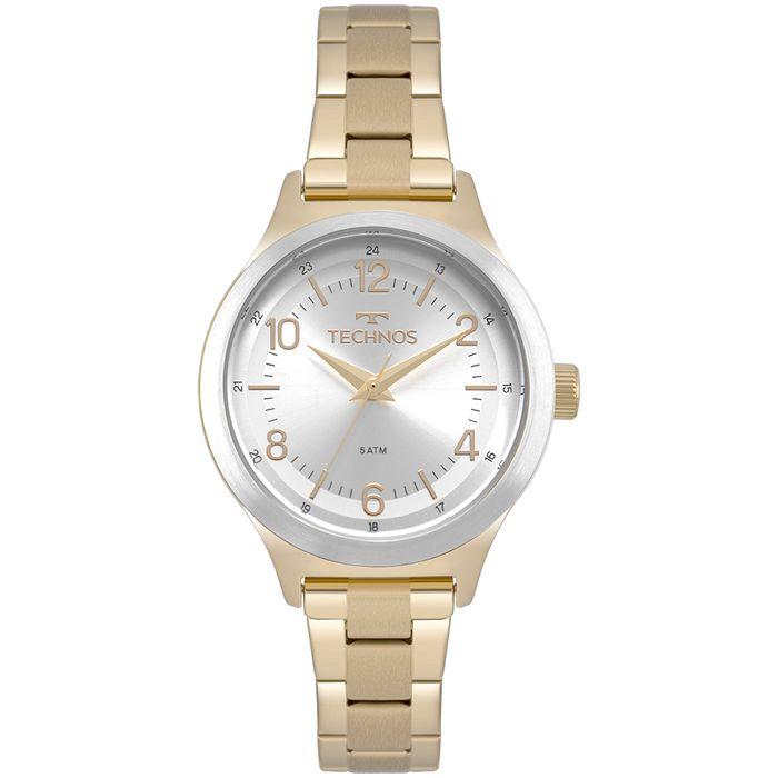 Relógio Technos Feminino Boutique Dourado 2035MNK 4K - technos e80c37acac