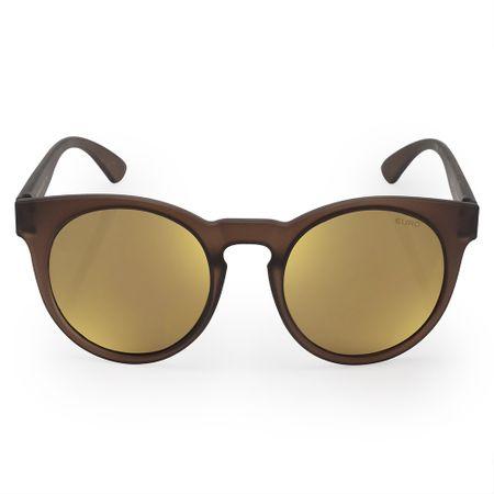 Óculos Euro Feminino Fashion Fit Marrom E0019J6481/8M