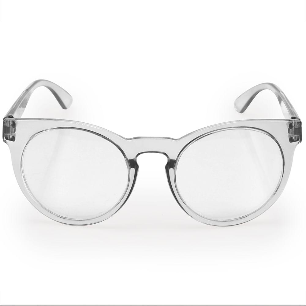 Óculos Euro Feminino Fashion Fit Transparente E6001D8951 8W - timecenter 460b7716b3