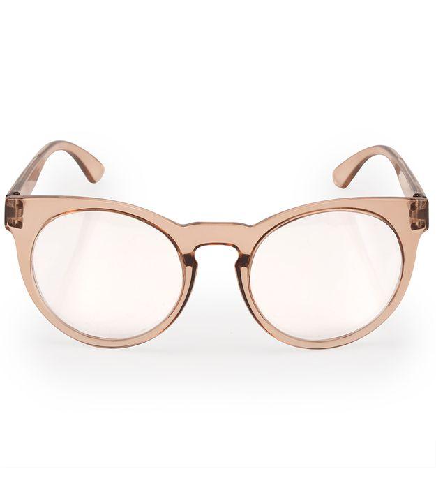 Óculos Euro Feminino Fashion Fit Nude E6001B4651 8X be22755fbb