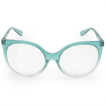 Óculos Euro Feminino Classic Cat Azul E6003K8157/8A