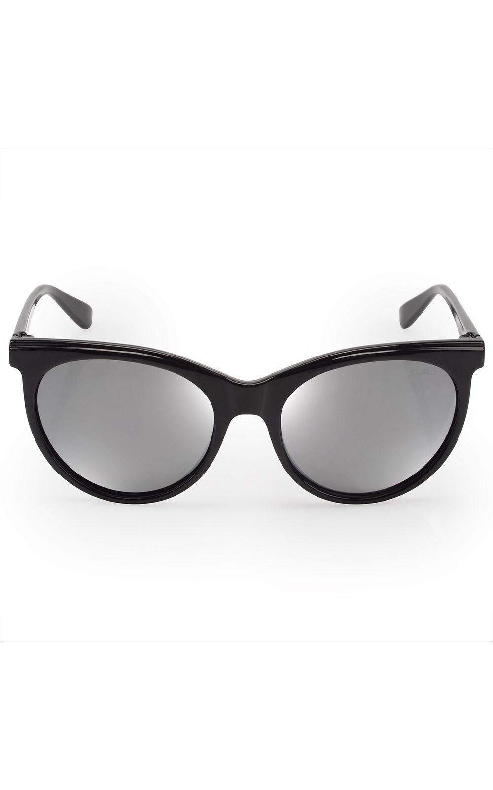 Foto 1 - Óculos Euro Feminino Classic Cat Preto E0022A0209/8P