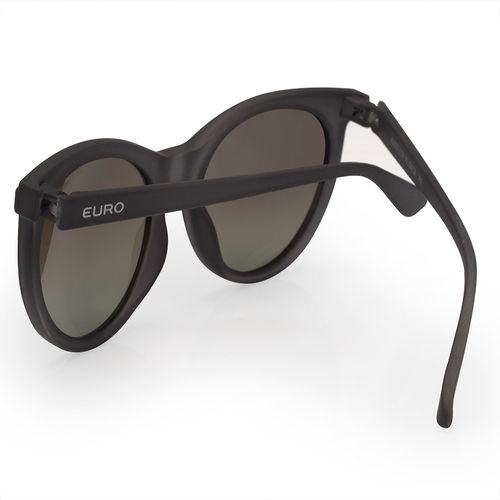 ec01a85cf50a3 Óculos Euro Feminino Classic Cat Preto E0022D5999 8F - euro