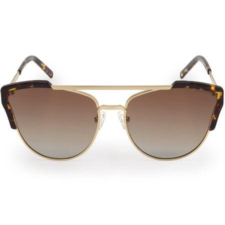 Óculos Euro Feminino Acetato Hit Dourado E0002E1134/4D
