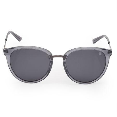 Óculos Euro Feminino Redondos Fumê E0014DC401/8F