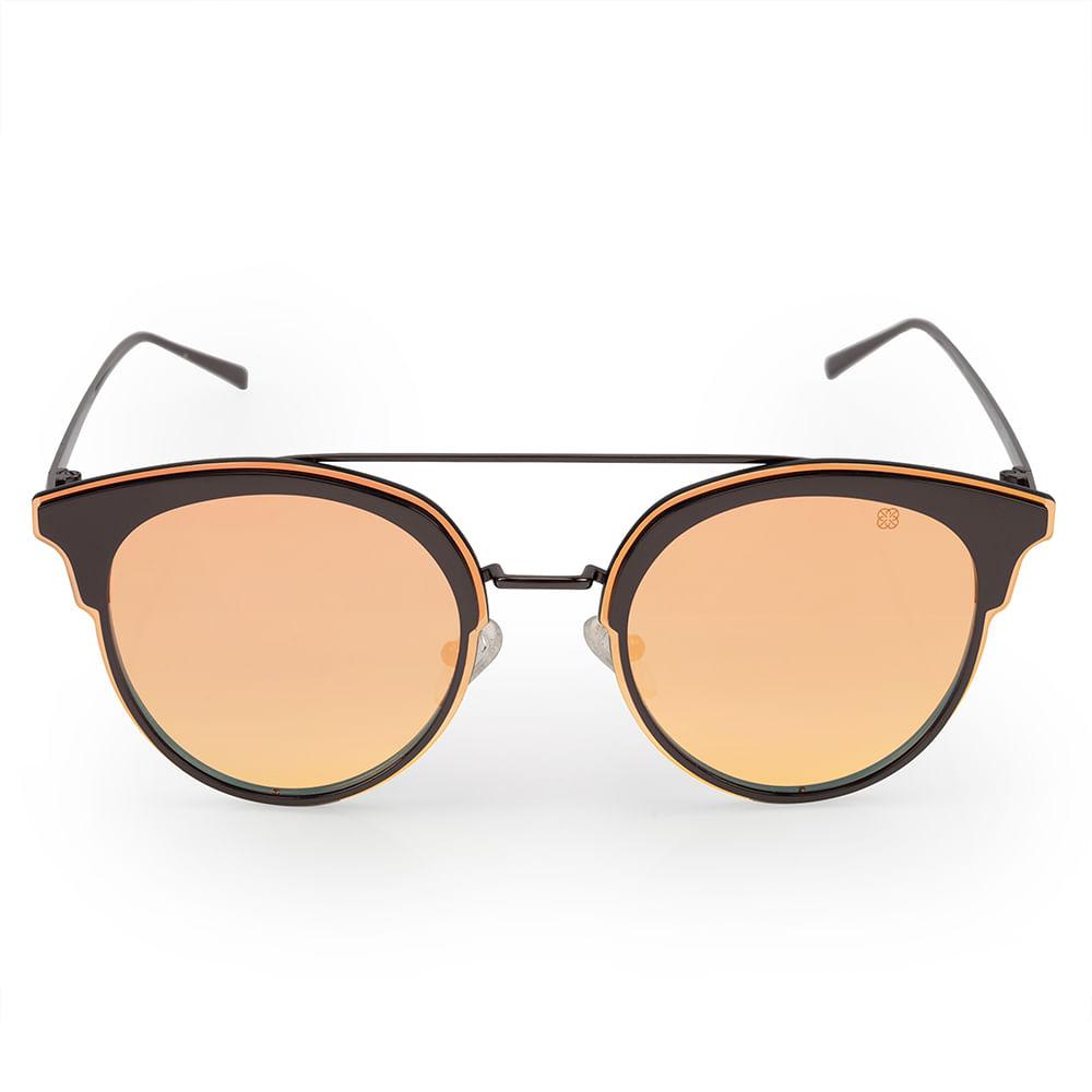 Óculos Euro Feminino Rosé Power Preto E0011D3046 4C - timecenter 1cec21f3ac