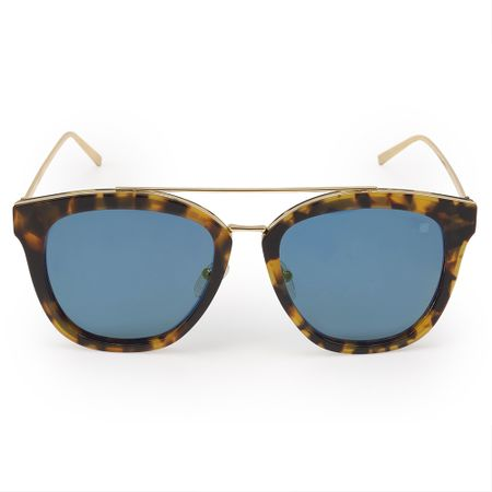 Óculos Euro Feminino Acetato Hit Tartaruga E0010F4728/8S
