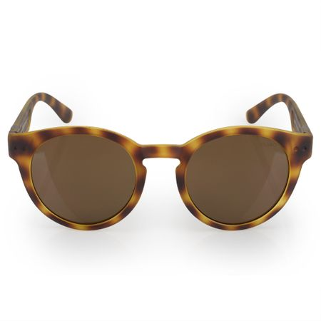 Óculos Euro Feminino Redondo Fashion Tartaruga E0023FE202/8S