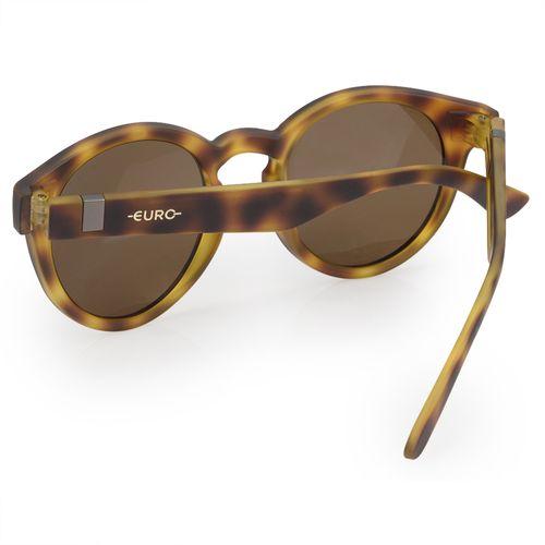 0f7c6214c8450 Óculos Euro Feminino Redondo Fashion Tartaruga E0023FE202 8S - euro
