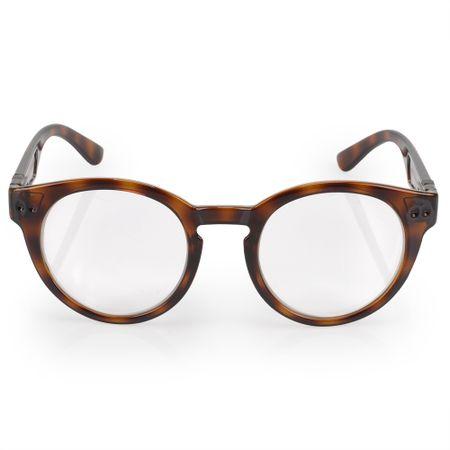 Óculos Euro Feminino Redondo Fashion Tartaruga E6005F2152/8S