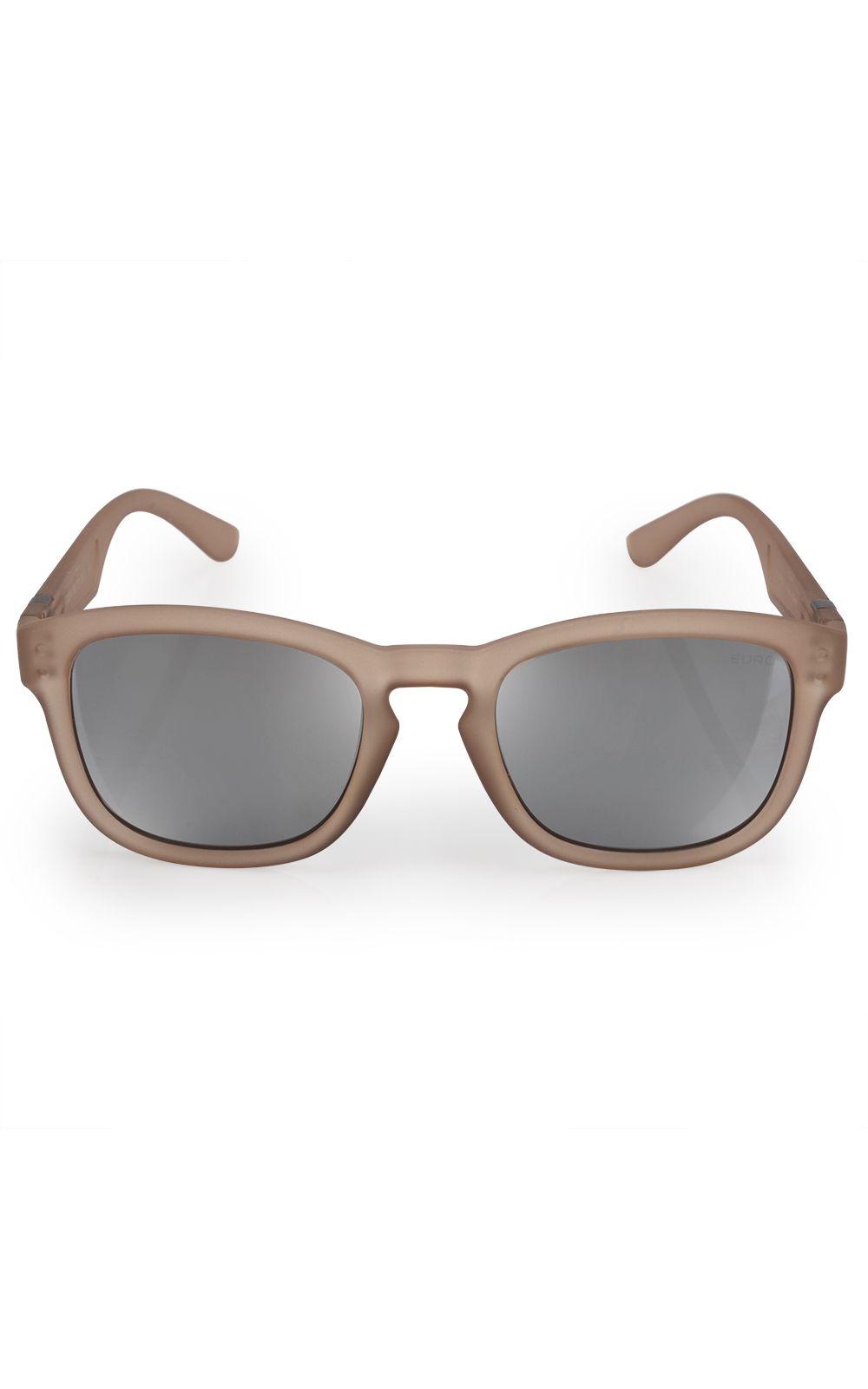 Foto 1 - Óculos Euro Feminino Redondo Fashion Nude E0024B6309/8X