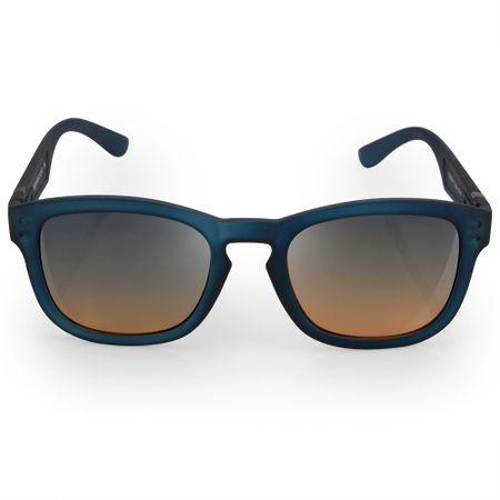 Óculos Euro Feminino Redondo Fashion Azul E0024K2621/8A