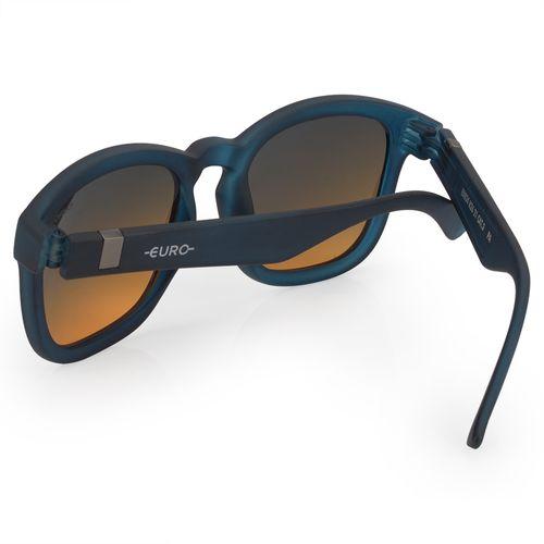 Óculos Euro Feminino Redondo Fashion Azul E0024K2621 8A - euro 93e554b214