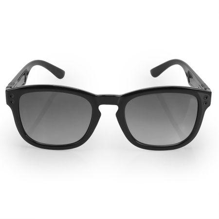 Óculos Euro Feminino Retangular Power Preto E0024A0233/8P