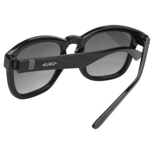 ebbc72049effd Óculos Euro Feminino Retangular Power Preto E0024A0233 8P - euro