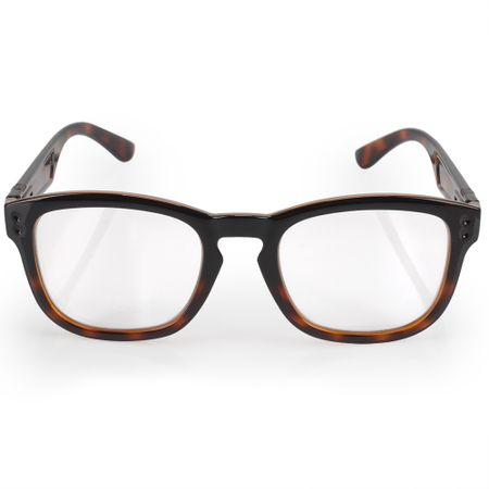 Óculos Euro Feminino Retangular Power Tartaruga E6006ADB51/8S